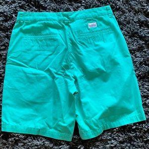 Vineyard Vines Shorts - Vineyard Vines men's aqua blue shorts size 33